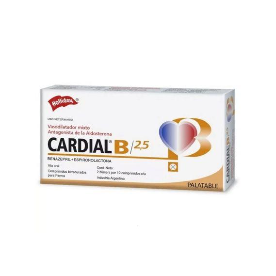 Cardial-B-2.5-Mg.-X-20-Comp.