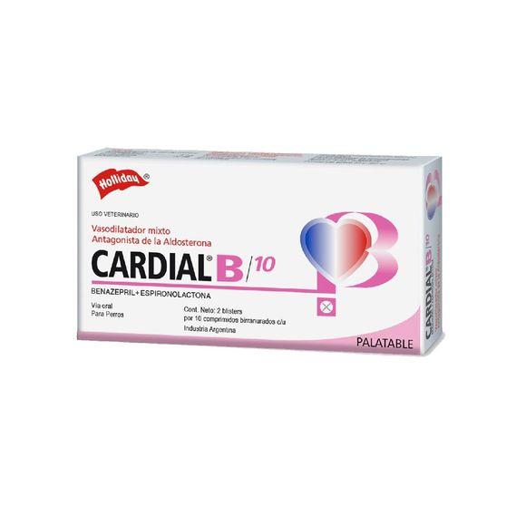 Cardial-B-10-Mg.-X-20-Comp.