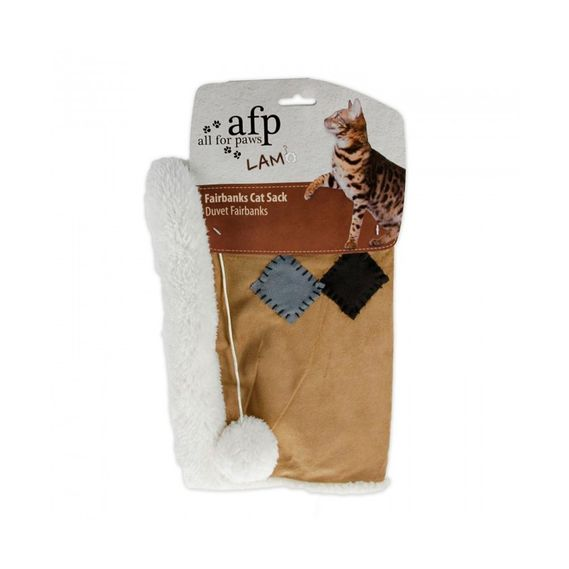 all-for-paws-lambswool-fairbanks-cat-sack-tan