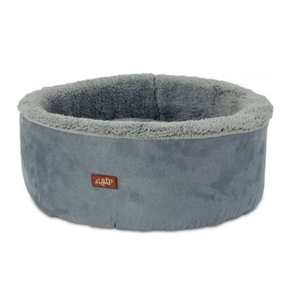 cod.-5345-Lambswool---Curl---Cuddle-Cat-Bed---Gray