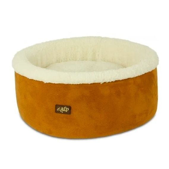 cod.-5344-Lambswool---Curl-Cuddle-Cat-Bed-tan